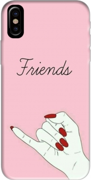 Capa BFF Best Friends Pink Friends Side para iphone-8
