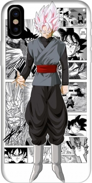 Capa Black Goku Scan Art para iphone-8