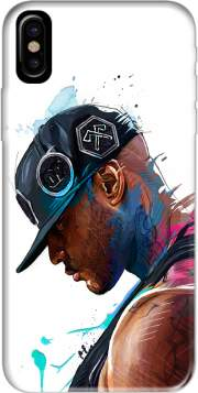 Capa Booba Fan Art Rap para iphone-8