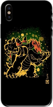 Capa Bowser Abstract Art para iphone-8