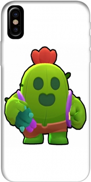 Capa Brawl Stars Spike Cactus para iphone-8
