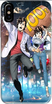 Capa City Hunter : Nicky Larson para iphone-8