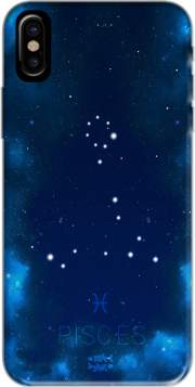 Capa Constellations of the Zodiac: Pisces para iphone-8
