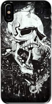 Capa Dark Gothic Skull para iphone-8