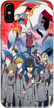 Capa darling in the franxx para iphone-8