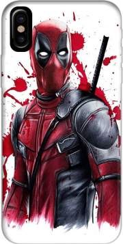 Capa Deadpool Painting para iphone-8