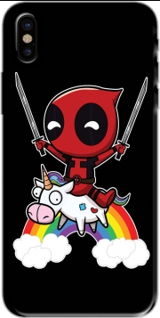 Capa Deadpool Unicorn para iphone-8