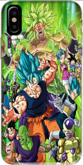 Capa Dragon Ball Super para Iphone X / Iphone XS