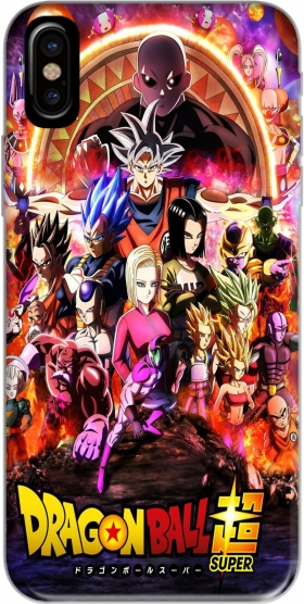 Capa Dragon Ball X Avengers para iphone-8