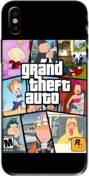 Capa Family Guy mashup GTA para iphone-8