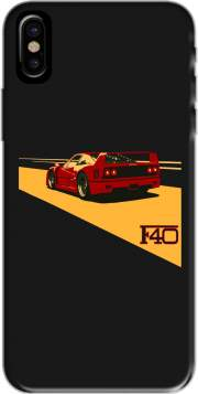 Capa Ferrari F40 Art Fan para iphone-8