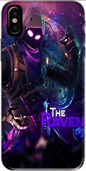 Capa Fortnite The Raven para Iphone X / Iphone XS