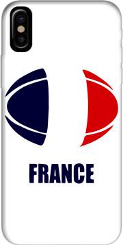 Capa france Rugby para iphone-8