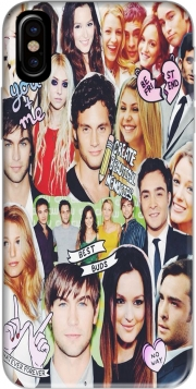 Capa Gossip Girl Fan Collage para iphone-8