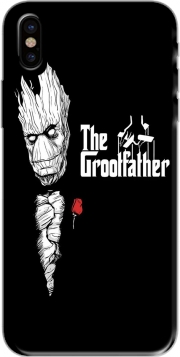 Capa GrootFather is Groot x GodFather para iphone-8