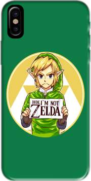 Capa Im not Zelda para iphone-8