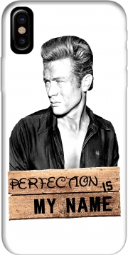 Capa James Dean Perfection is my name para iphone-8