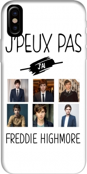 Capa Je peux pas jai Freddie Highmore Collage photos para iphone-8
