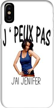 Capa Je peux pas jai Jenifer para iphone-8