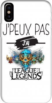 Capa Je peux pas jai league of legends para iphone-8