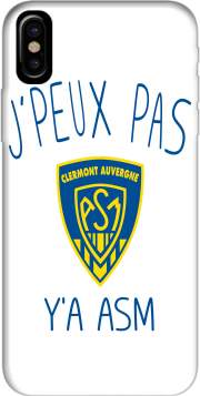 Capa Je peux pas ya ASM - Rugby Clermont Auvergne para iphone-8