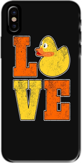 Capa Love Ducks para iphone-8