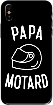 Capa Papa Motard Moto Passion para iphone-8