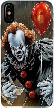 Capa Pennywise Ca Clown Red Ballon para iphone-8