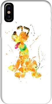 Capa Pluto watercolor art para iphone-8