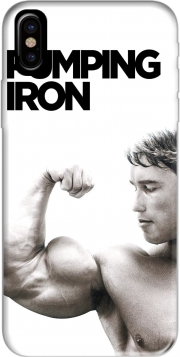 Capa Pumping Iron para iphone-8