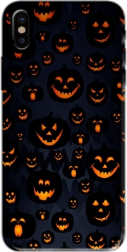 Capa Scary Halloween Pumpkin para iphone-8