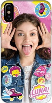 Capa Soy Luna Collage Fan para iphone-8