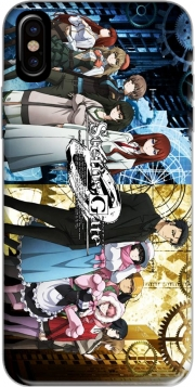Capa Steins Gate para iphone-8