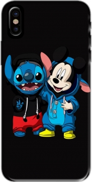 Capa Stitch x The mouse para iphone-8