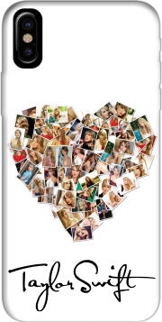 Capa Taylor Swift Love Fan Collage signature para iphone-8