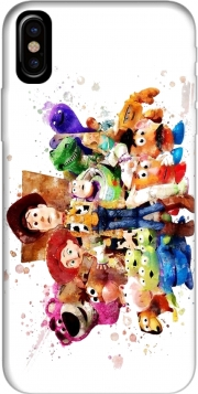 Capa Toy Story Watercolor para iphone-8