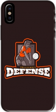 Capa Volleyball Defense para iphone-8