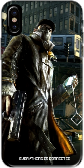 Capa Watch Dogs Everything is connected para iphone-8