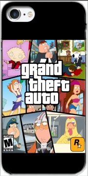 Capa Family Guy mashup GTA para Iphone 7 / Iphone 8