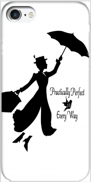 Capa Mary Poppins Perfect in every way para Iphone 7 / Iphone 8