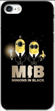 Capa Minion in black mashup Men in black para iphone7