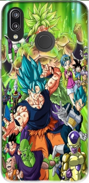 Capa Dragon Ball Super para Huawei P20 Lite
