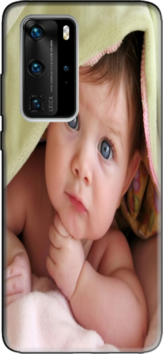 Silicone Huawei P40 PRO com imagens baby