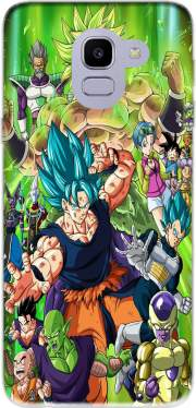 Capa Dragon Ball Super para Samsung Galaxy J6 2018