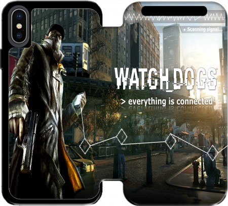 portfolio capa Watch Dogs Everything is connected para Iphone X / Iphone XS