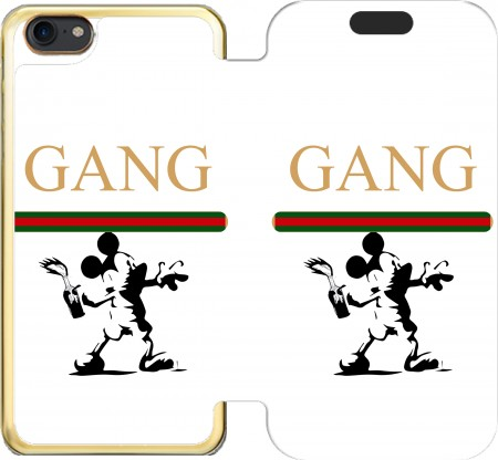 portfolio capa Gang Mouse para Iphone 7 / Iphone 8